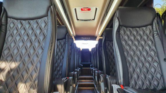 Mercedes-Benz Riada GT / Turas interior