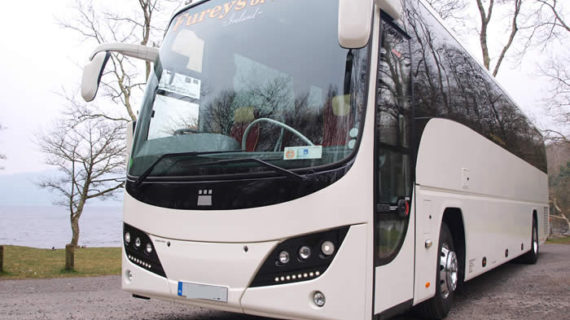 Volvo Plaxton Bus Fureys of Sligo